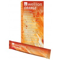 Azúcar invertido Wellion sabor naranja (10 bolsitas)