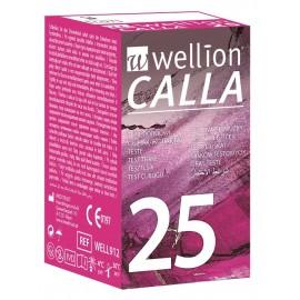 25 tiras glucosa Wellion Calla