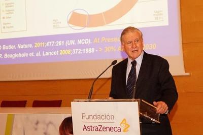 El doctor Fuster estima que tabaco y colesterol ensombrecen el horizonte vital de las personas